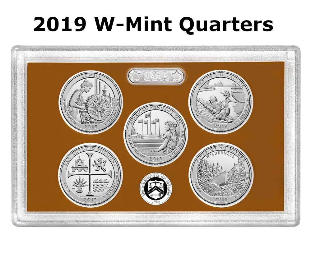2019-W Uncirculated Frank Church River Of No Return Idaho Quarter  Rare!